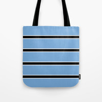 Abstraction from the flag of bostwana-kalahari,gaborone,batswana,motswana,tswana,kalanga Tote Bag by oldking