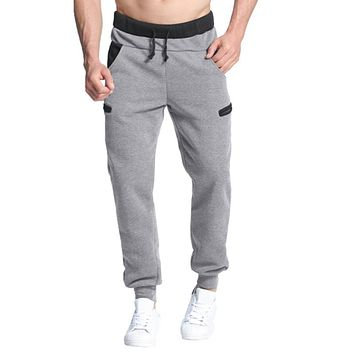Harem Pants Autumn Winter Fleece Warm Pants Sweatpants Casual Baggy Tracksuit Long Trousers Joggers Sportswear Elastic Plus Size