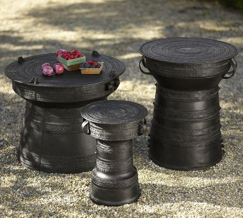 Frog Rain Drum Accent Table From Pottery Barn Outdoor Gypsy