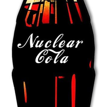 Nuclear Cola Laser Cut Out Reproduction Sign 5.5″X17.5″