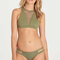 Billabong - Meshin With You High Neck Top | Seagrass