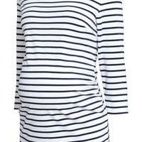 MAMA Cotton Jersey Top - from H&M