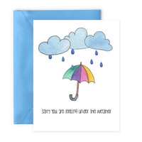 Cute Get Well Card - Digital Download Greeting by Yellow Daisy Paper Co.
