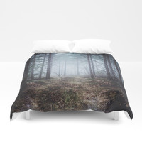 No more roads Duvet Cover by happymelvin
