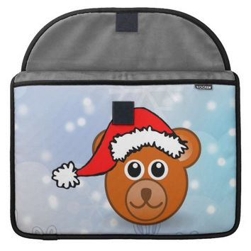 Christmas Bear Sleeve For MacBooks