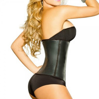 Latex Waist Cincher Black/ Ann Cherry Waist Cincher/ Latex Thong Waist Shaper XXXL