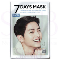 FORENCOS 7 Days Mask MON - Swallow's Nest Nutrition Silk Mask