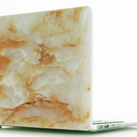 Apple Laptop Marble Grain Protection Shell Case