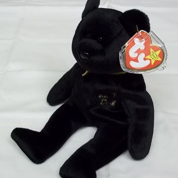 Ty Beanie Babies The End Bear -- Used