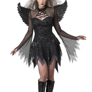 Costume Angel Wings Set