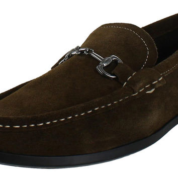 Made By Cam Newton Men's Suede Loafers Dress Shoes