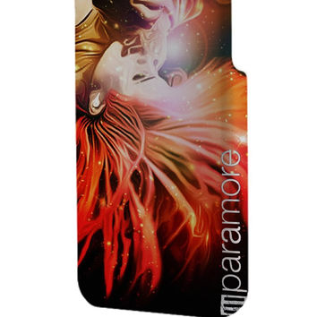 Best 3D Full Wrap Phone Case - Hard (PC) Cover with Paramore Hayley Williams Flaming Hair Design
