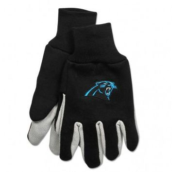 Carolina Panthers - Adult Two-Tone Sport Utility Gloves