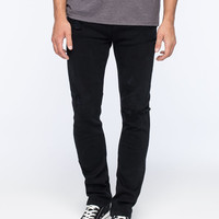 Rsq London Mens Skinny Jeans Black Jagger  In Sizes