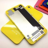 Amazon.com: iPhone 4s back glass, Replacement OEM Battery Cover Back Cover includes Screwdrivers, Yellow Rear Glass Battery Door, NewLifeStart: Cell Phones & Accessories