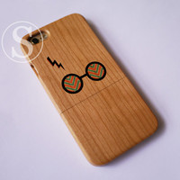 Harry Potter iPhone case, Wood iPhone 6 case, Wooden iPhone 6s plus case, Wood iPhone 6s case, Real wood iPhone case, SD-15