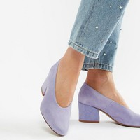 Depp Suede Heeled Shoes at asos.com