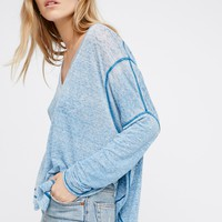 Free People Shadow Tee