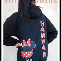 2 Day Priority Shipping Mickey/Minnie Inspired Hoodie Perfect For Disney Or Any Disney Lover