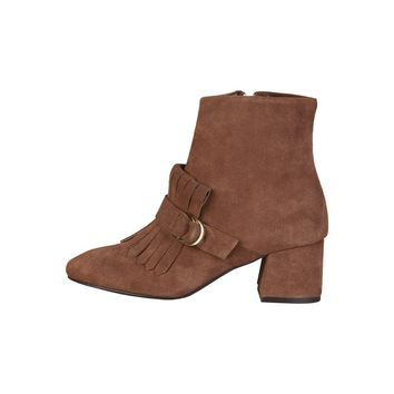 Fontana 2.0 Brown Ankle Boots