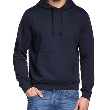 ca qiyif Simple Stylish Pullover Sweatshirt