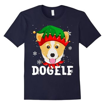 Dogelf Corgi Dog Funny Ugly Christmas Sweater T-shirt