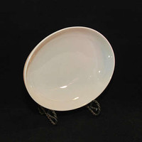 Vintage Mid Century Gladding McBean & Company Franciscan Fine China Encanto Oval Vegetable Bowl (c. 1950's) Cream Color, Simple Elegance