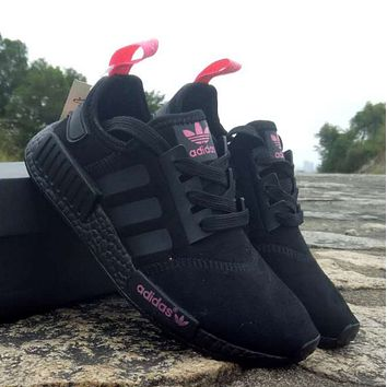 x1love : Adidas NMD R1 Boost Casual Sports Shoes