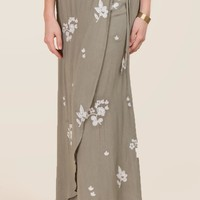 Marcella Floral Wrap Skirt