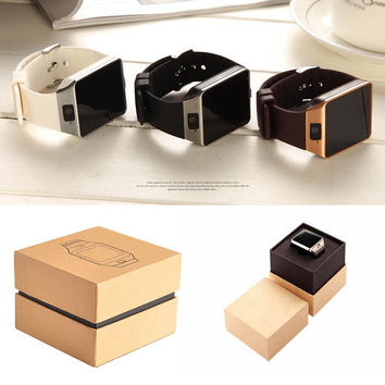 Smart Watch GETIHU Wearable Devices DZ09 Smart Watch Support SIM TF Card Electronics Wrist Phone Watch For Android smartphone Smartwatch