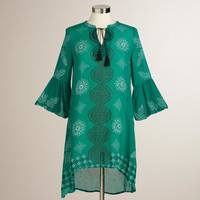 Green Printed High-Low Taylor Dress - World Market