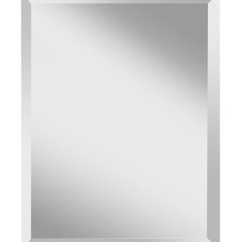 Murray Feiss Infinity Small Rectangular Frameless Mirror - MR1152