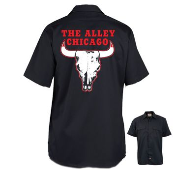 The Alley Chicago Basketball Parody Work Shirt