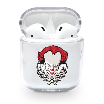 Clown Face Airpods Case