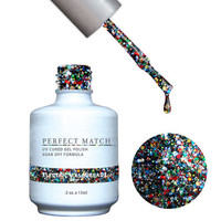 LeChat Perfect Match Gel / Lacquer Combo - Electric Masquerade 0.5 oz - #PMS86