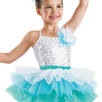 Sequin Tiered Ombre Tutu Dress -Weissman Costumes
