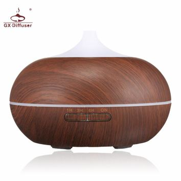 LED Lamp Electric Aroma Diffuser Aromatherapy With Essential Oil For Home