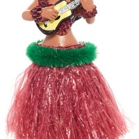 DASHBOARD HULA UKELELE GIRL PINK