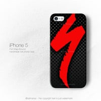 Specialized Bike Team Bicycle Cycling Logo iPhone 3, 4, 5, 6 Case Cover Series