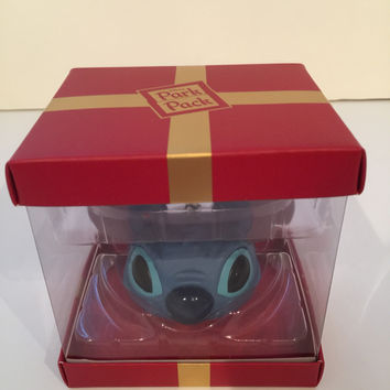 Disney Park Pack Holiday Subscription Stitch Ear Hat Ornament New with Box