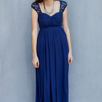 WEB EXCLUSIVE: Young & Free Dress in Navy