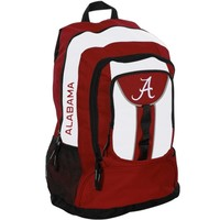 Alabama Crimson Tide Crimson/White Colossus Backpack