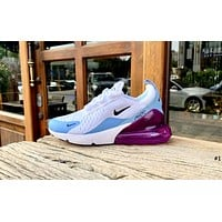 NIKE AIR MAX 270 Tide brand mesh breathable half palm cushion sports shoes #1