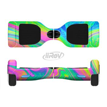 The Neon Color Fushion V3 Full Body Skin Set for the Smart Drifting SuperCharged Transportation iiRov