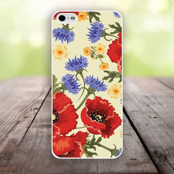 iPhone 5S case pink and blue flowers iphone 6 plus,Feather IPhone 4,4s case,color IPhone 6,vivid IPhone 5c,IPhone 5 case Waterproof 770