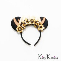 Bambi Mouse Ears Headband, Bambi Ears, Bambi Baby Shower, Bambi Dress, Fawn Headband, Fawn Ears, Disney Bound, Disney Headband, Disneyland