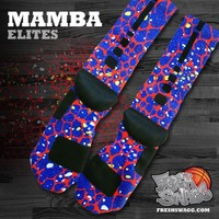 freshswagg — Mamba Custom Nike Elite Socks