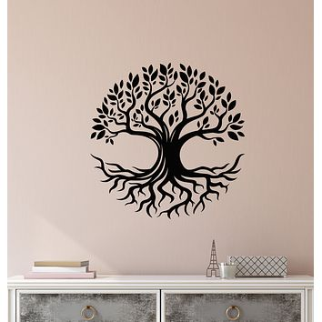 Vinyl Wall Decal Nature Family Tree of Life Celtic Symbol Stickers (3837ig)