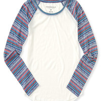 Long Sleeve Southwest Raglan Tee