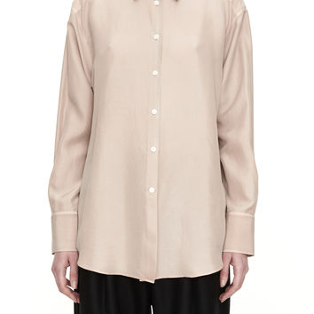 Acne Studios Leia Long Sleeved Flesh Shirt
